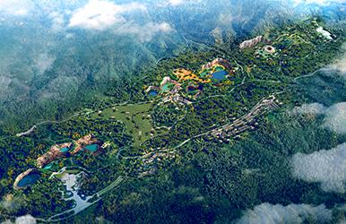 重庆渝北·铜锣山国家矿山公园规划设计