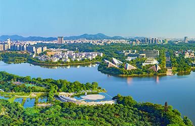 广东东莞·松山湖(生态园)办公及商务区景观工程