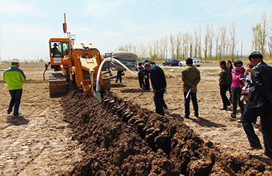 内蒙古河套灌区· 盐碱地改良及综合整治示范项目