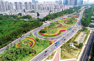广东东莞·东莞大道绿脉提升工程